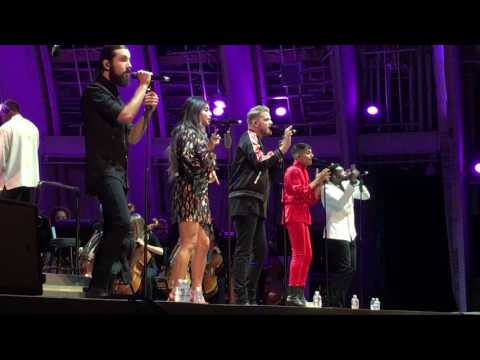 Pentatonix, Take On Me, Hollywood Bowl, July 4, 2017