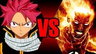 Natsu VS Tocha Humana | Batalha Mortal | Ei Nerd