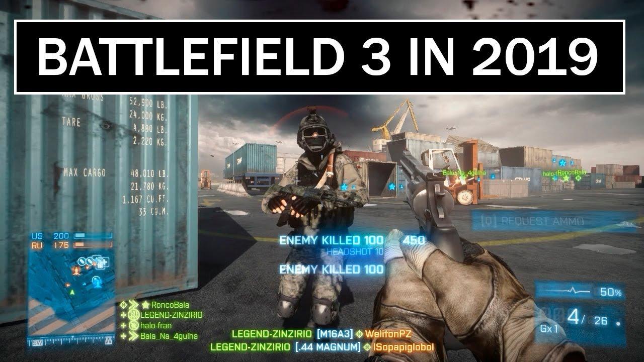 BATTLEFIELD 3 IN 2019