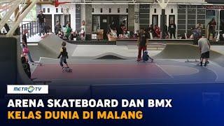 Wah, Ada Arena Skateboard & BMX Kelas Dunia di Malang