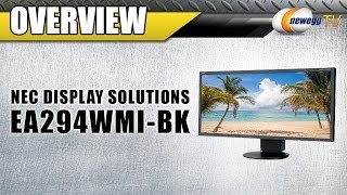 "NEC Display Solutions 29"" HDMI Widescreen LED Backlight LCD Monitor Overview - Newegg TV"