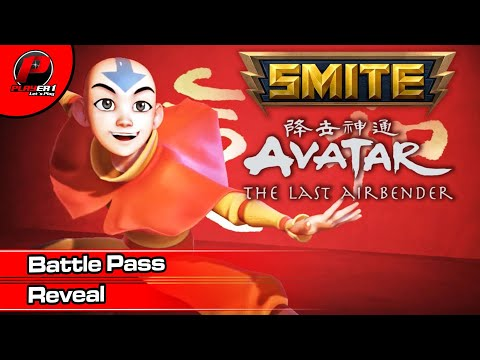 Smite – SMITE x Avatar: The Last Airbender Battle Pass Reveal