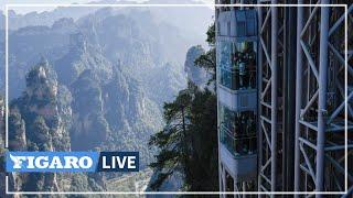 ⛰️ L'ascenseur LE PLUS HAUT du monde donne à voir les paysages ayant inspiré «Avatar»