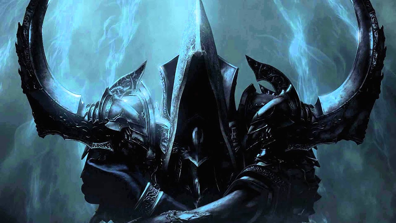 Blue Skull Wallpaper Hd Diablo Iii Reaper Of Souls Malthael Theme Youtube