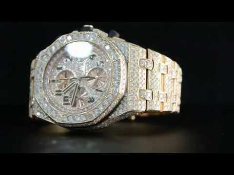 Audemars Piguet Royal Oak Offshore Diamond Watch Youtube