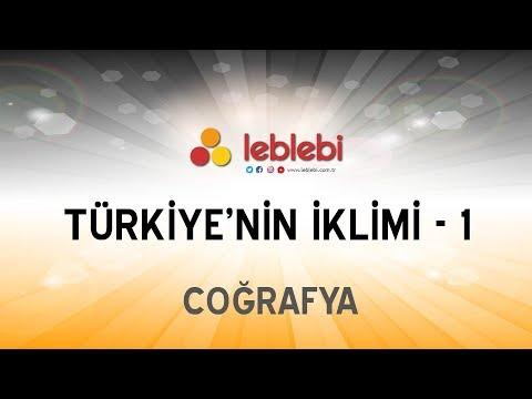 COĞRAFYA / TÜRKİYE'NİN İKLİMİ - 1