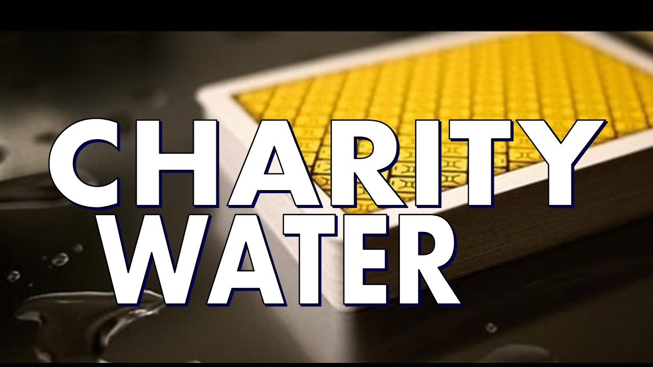 Deck Review: Charity Water Deck - Theory 11 - Playing Cards