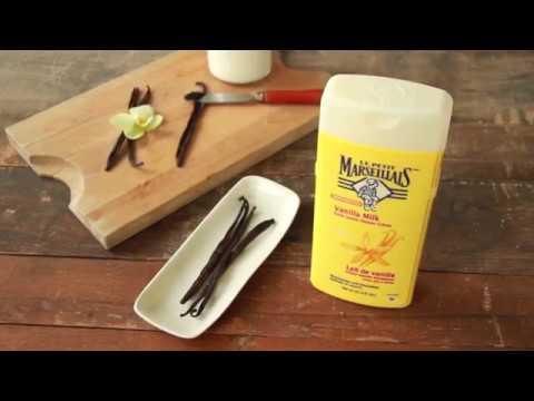 Soak In Rich & Soothing Vanilla Milk Body Wash |  Le Petit Marseillais™