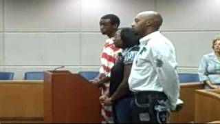 Raw Video: Teen In Burning Case Faces Judge