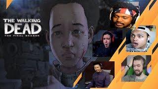 Gamers Reacties te Vertrouwen AJ Te Maken van De Vaste Oproepen | The Walking Dead: [S4][E4] Terug