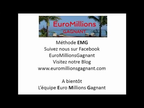comment gagner l 39 euromillions avec la m thode emg youtube. Black Bedroom Furniture Sets. Home Design Ideas