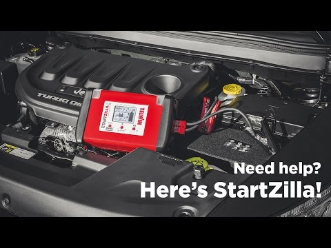 STARTZILLA 2012 and 3024: LITHIUM JUMPSTARTERS AND TESTERS 12/24V FOR PROFESSIONAL USE