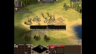 Let`s Play Rise of Nations Thrones and Patriots - Conquer the World Campaign Alexander Part 1