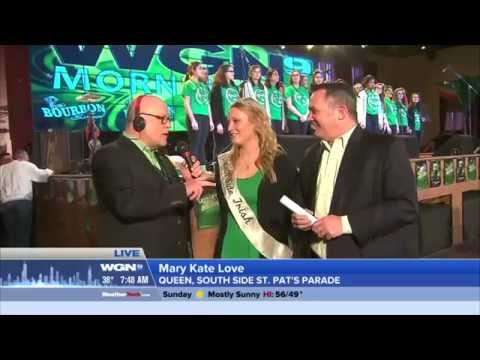 St Patrick's Day  Queen of Peace High School  at 115 Bourbon Street