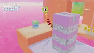 Stepping Over the Gears & Lanterns on the Gear Steps ~ Luncheon Kingdom ~ Super Mario Odyssey