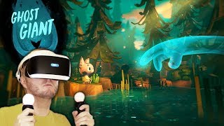 UPCOMING PUZZLE ADVENTURE VR GAME LIKE MOSS?! | Ghost Giant PSVR Gameplay (PlayStation VR)
