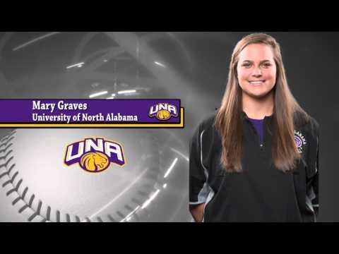 2016 University of North Alabama Softball Team