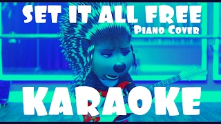 KARAOKE Scarlett Johansson - SET IT ALL FREE / SING MOVIE (Piano Cover)