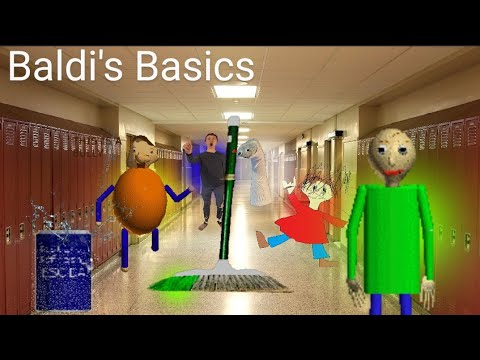Download CRAZY Teacher tries to SPANK me with RULER (Baldi's Basics)