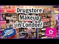 Come Shop With Me: DRUGSTORE MAKEUP in LONDON!