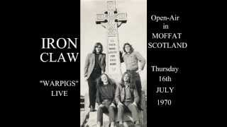 IRON CLAW WARPIGS LIVE 1970