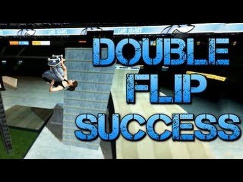 Skate 3 - Part 16   DOUBLE FLIP SUCCESS   Skate 3 Funny Moments - JACKSEPTİCEYE HD