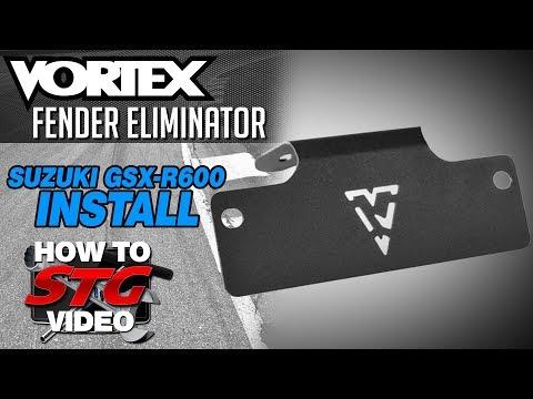 How To Install a Vortex Fender Eliminator on a Suzuki GSX-R600 from SportbikeTrackGear.com