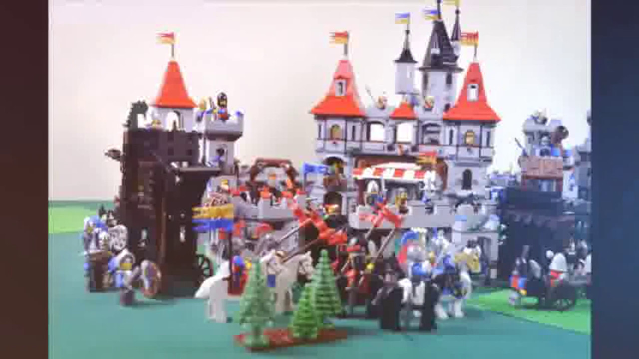 Lego Castle Coloring Pages Youtube