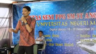 Stand Up Comedy-Uncok Siahaan-Pensi PPG SM3T III UNIMED