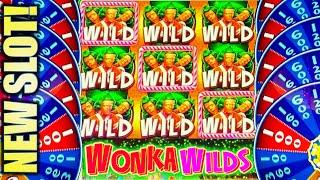 ★NEW SLOT!★ WONKAVATOR! WILLY WONKA Slot Machine Bonus (SG)