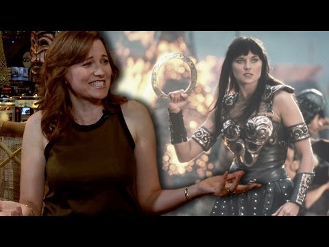 "CBR TV @ NYCC 2015: Lucy Lawless Talks the ""Xena"" Reboot, Why Hollywood is Scared of ""Wonder Woman"""