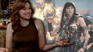 """CBR TV @ NYCC 2015: Lucy Lawless Talks the """"Xena"""" Reboot, Why Hollywood is Scared of """"Wonder Woman"""""""
