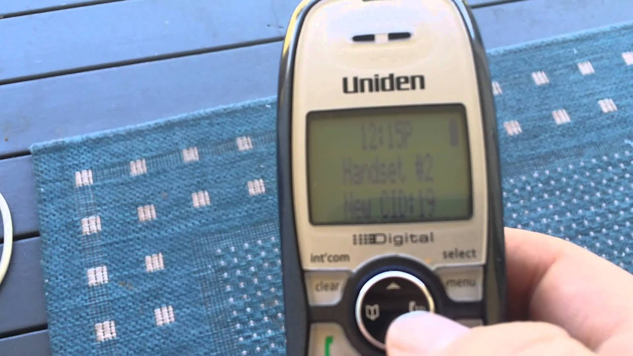 uniden call block feature youtube rh youtube com Uniden Answering Machine Manual uniden 1580 manual