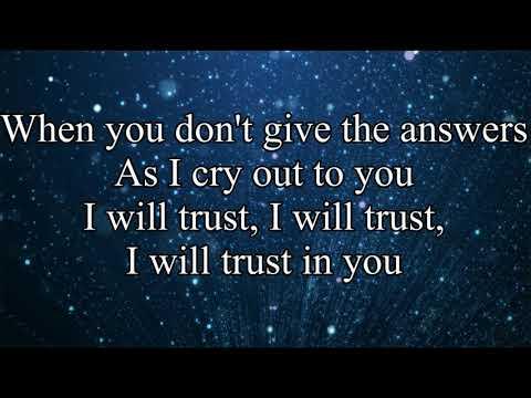 I will trust in You - Lauren Daigle