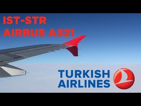 Turkish Airlines A321 Flight Istanbul - Stuttgart