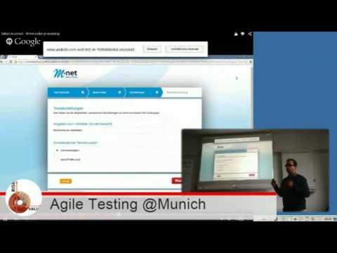 Agile Testing @Munich Meetup - Frameworks für automatisiertes Testen