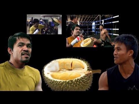 คลิปตลก ปาเกียวท้าชก บัวขาว เกือบวางมวยซะละ(Buakaw VS Manny Pacquiao) Ep.2