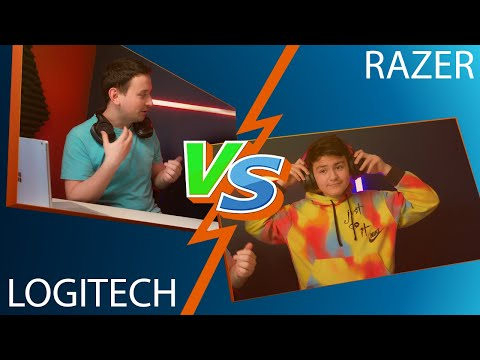 Logitech VS Razer | Logitech G Pro Gaming G533 & Razer Nari Essential Review