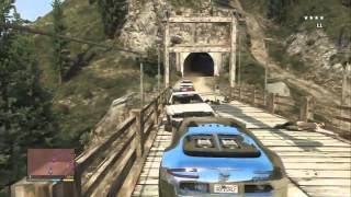 GTA V   Course poursuite hallucinante