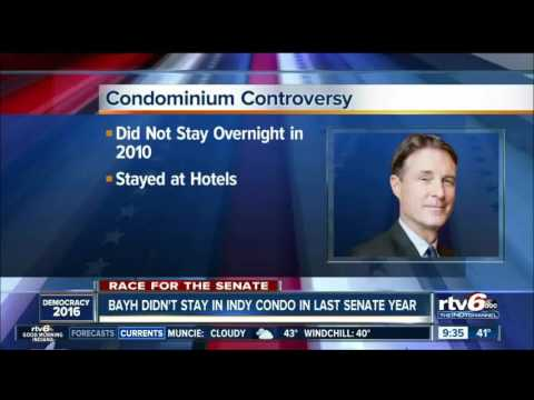 "WRTV: ""Condominium Controversy: Bayh Didn"