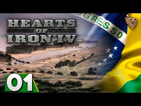 Hearts of Iron IV Brasil #01