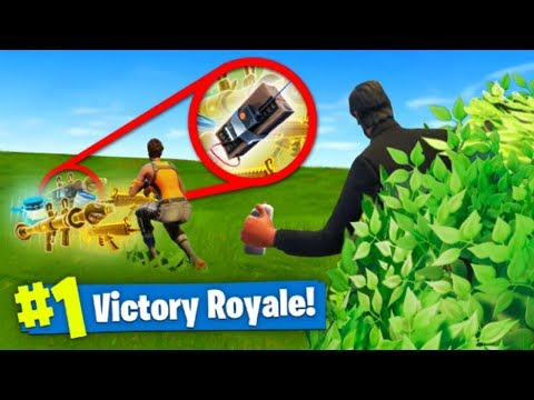 C4 LOOT *TROLL* In Fortnite Battle Royale!