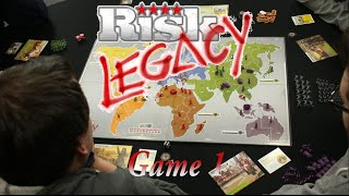 Risk Legacy  - Full Campaign - Game 1