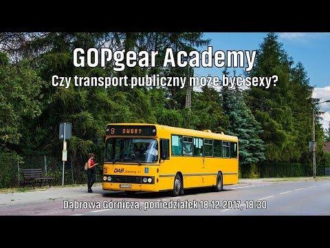 GOPgear Academy | Czy transport publiczny może być sexy? [Debata, Dąbrowa Górnicza, 18.12.2017 r.]