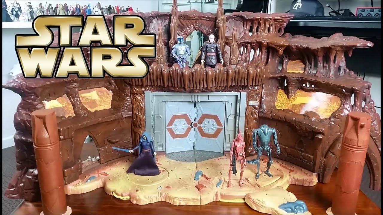 Star Wars Geonosis Battle Arena 2002 Saga Phase 1 - YouTube