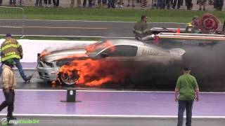 Nitrous Mustang Goes Up in Flames at TX2K16! thumbnail