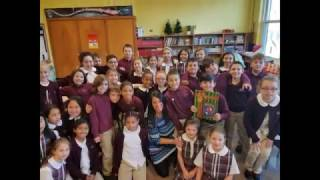 "Santa's Magical Chimney shares ""Perseverance"" with St.John Catholic"