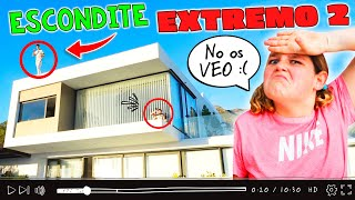 ⚠ ESCONDITE EXTREMO en CASA de THE CRAZY HAACKS 🏡 ¡Mateo DESAPARECE! (Parte 2) + HOUSE TOUR