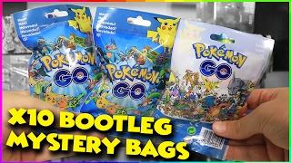 Opening 10 Pokemon GO Bootleg Mystery Bags!