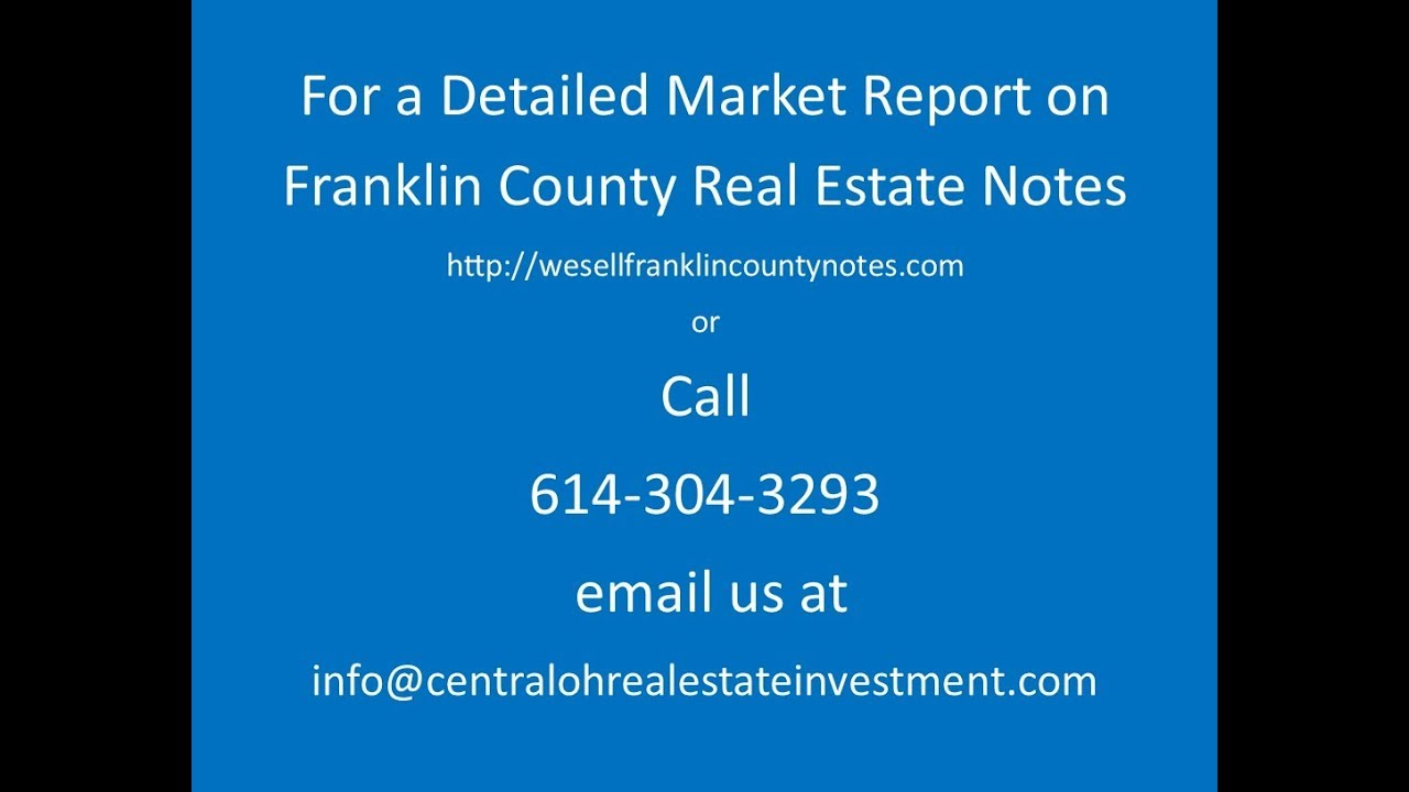 Real Estate Notes for Sale Franklin County Medium